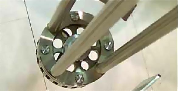 Rotor stator detail