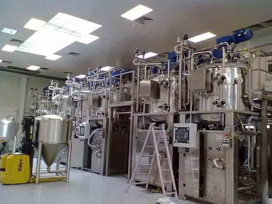 farmaceutische productie mengers