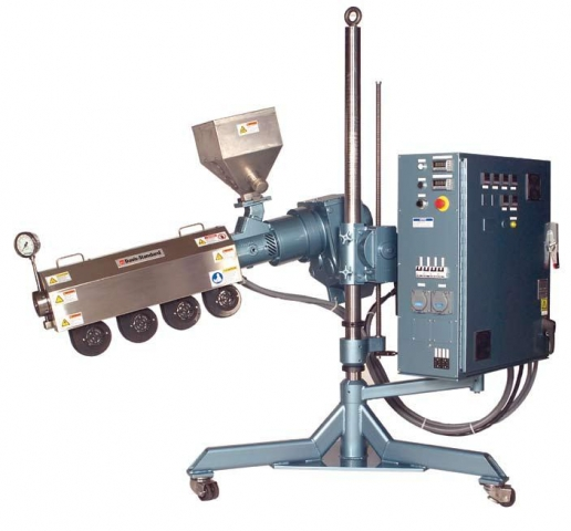 Coextruder adjustable
